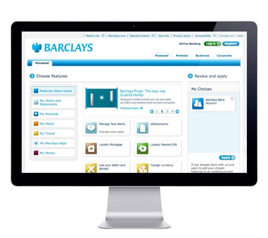 Barclays Features Store
