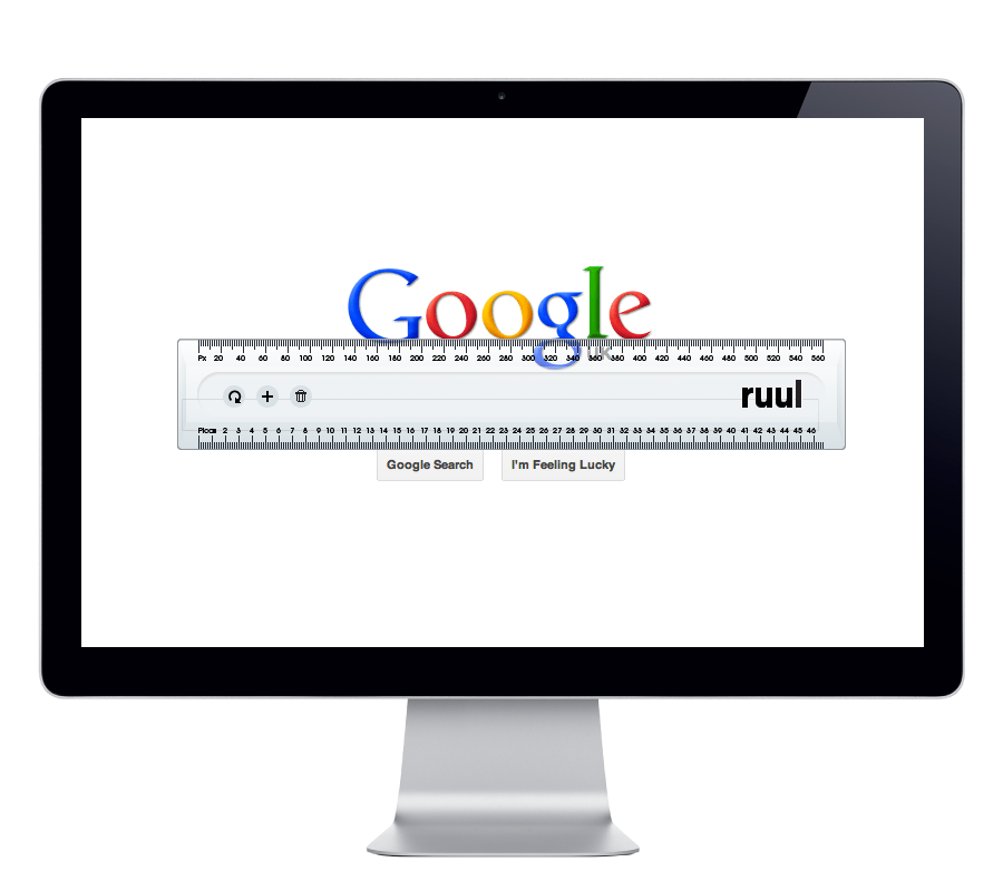 Ruul. Screen ruler