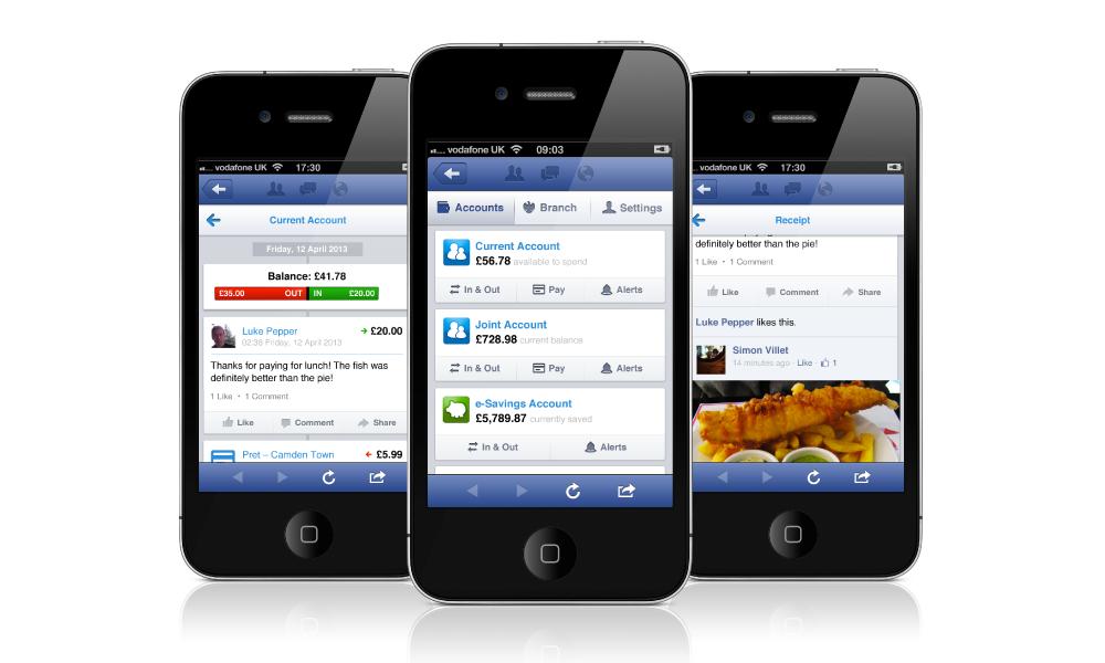 Facebook banking
