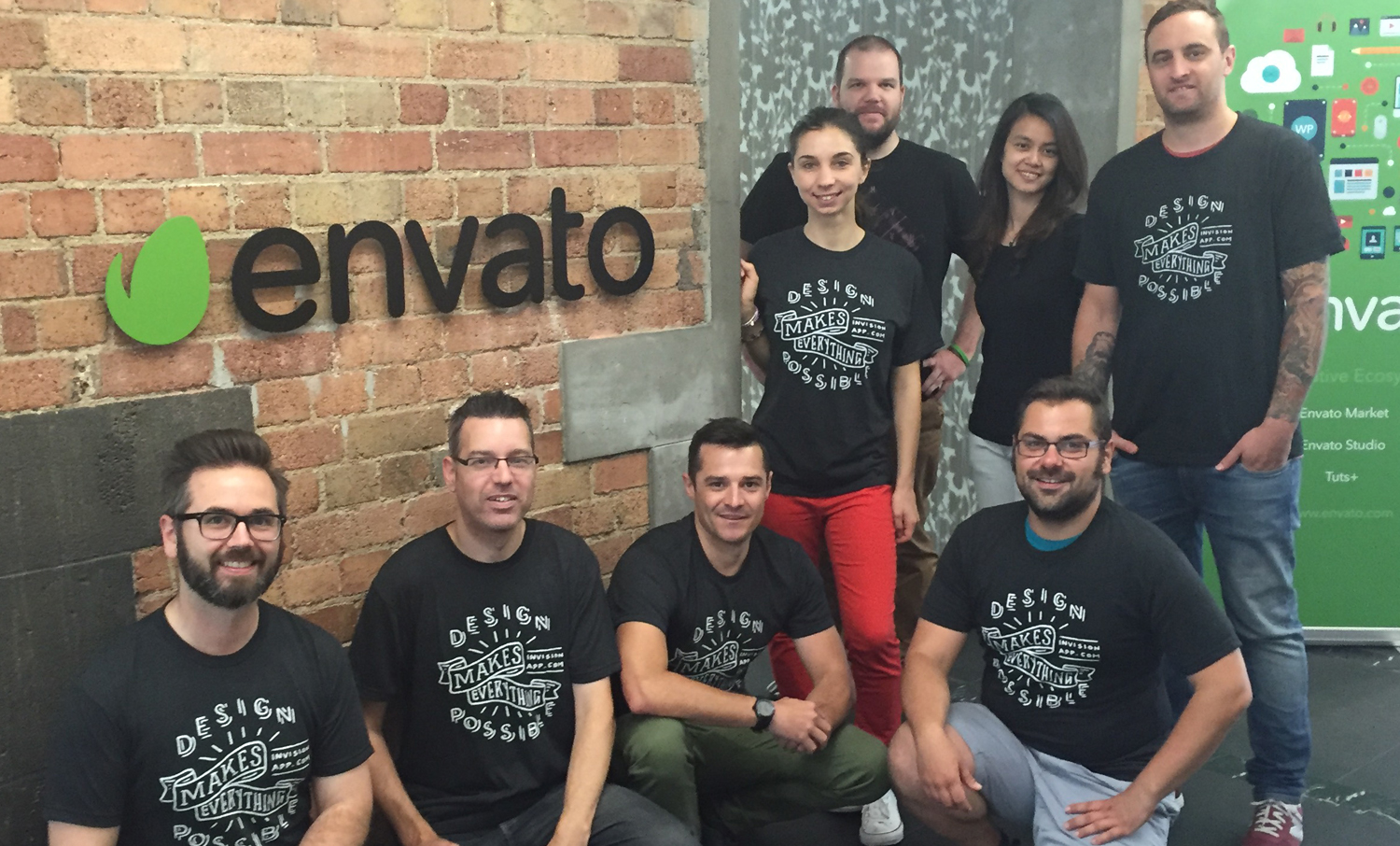 The design team at Envato